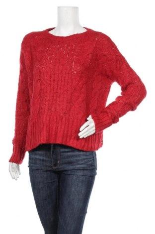 Дамски пуловер Kismet, Размер M, Цвят Червен, 63% акрил, 22% полиестер, 15% вълна, Цена 8,45лв.