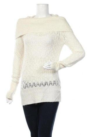 Γυναικείο πουλόβερ Kismet, Μέγεθος L, Χρώμα  Μπέζ, 87%ακρυλικό, 6% πολυαμίδη, 5% μεταλλικά νήματα, Τιμή 17,28€