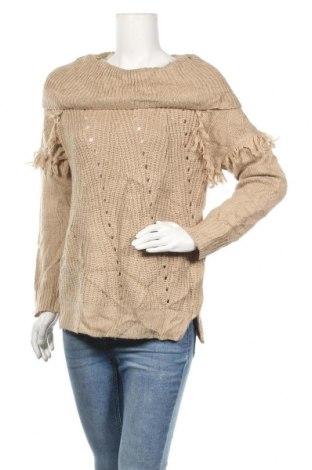 Дамски пуловер Knox Rose, Размер M, Цвят Бежов, Акрил, Цена 6,30лв.