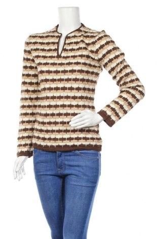 Дамски пуловер Kookai, Размер XS, Цвят Кафяв, 45% вълна, 40% акрил, 15% други материали, Цена 13,44лв.