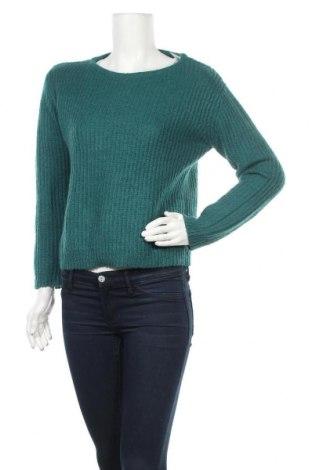 Дамски пуловер La Redoute, Размер XS, Цвят Зелен, 42% акрил, 30% мохер, 28% полиамид, Цена 31,92лв.