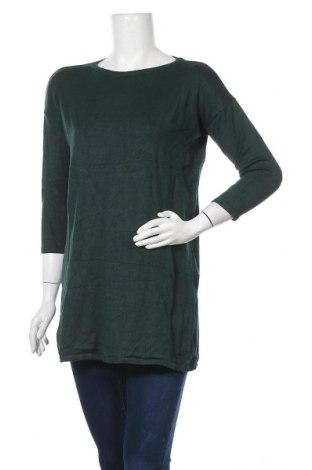 Дамски пуловер Laura Scott, Размер M, Цвят Зелен, 70% вискоза, 30% полиамид, Цена 24,10лв.