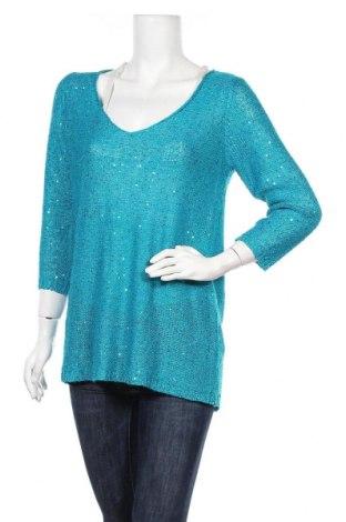 Дамски пуловер Le Chateau, Размер XL, Цвят Син, 70% полиестер, 30% акрил, Цена 25,73лв.