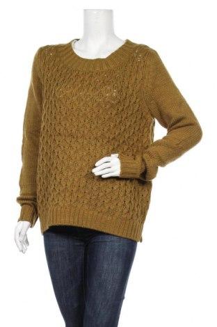 Дамски пуловер Lindex, Размер M, Цвят Зелен, Акрил, Цена 10,92лв.