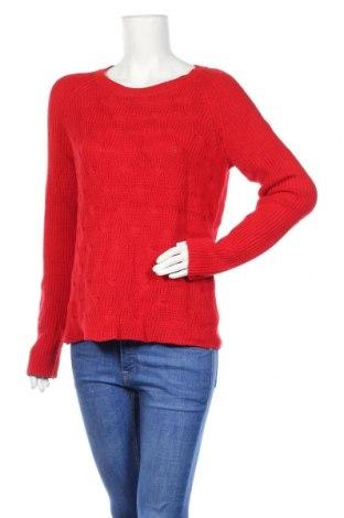 Γυναικείο πουλόβερ Liz Claiborne, Μέγεθος L, Χρώμα Κόκκινο, 60% βαμβάκι, 40% πολυεστέρας, Τιμή 13,58€