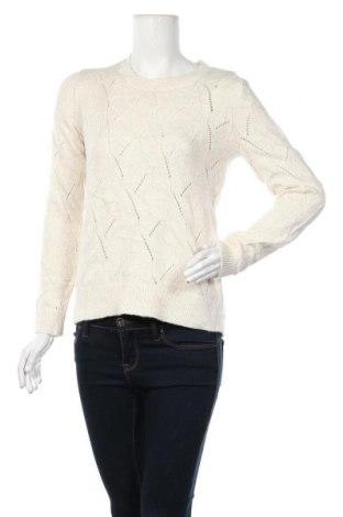 Дамски пуловер Loft, Размер S, Цвят Бежов, 62% памук, 33% акрил, 5% вълна, Цена 24,15лв.