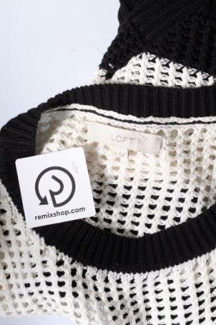 Дамски пуловер Loft By Ann Taylor, Размер S, Цвят Черен, Памук, Цена 6,93лв.