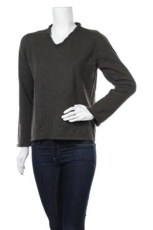 Дамски пуловер Longhin, Размер L, Цвят Зелен, Цена 7,25лв.