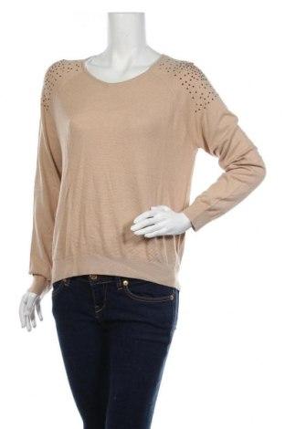 Дамски пуловер Mango, Размер L, Цвят Бежов, Цена 18,90лв.
