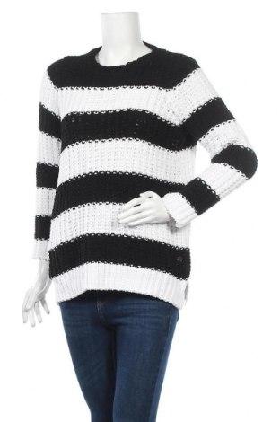Дамски пуловер Manguun, Размер M, Цвят Черен, Полиестер, Цена 10,92лв.