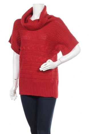 Γυναικείο πουλόβερ Mark Adam, Μέγεθος L, Χρώμα Κόκκινο, 80% πολυακρυλικό, 20% πολυαμίδη, Τιμή 16,10€