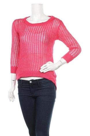 Дамски пуловер Material Girl, Размер S, Цвят Розов, 85% акрил, 15% вълна, Цена 6,28лв.