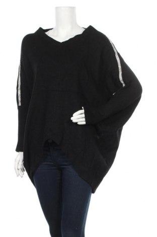 Дамски пуловер Mc Lorene, Размер M, Цвят Черен, Цена 25,20лв.