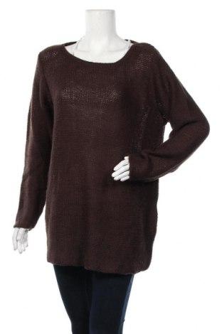 Γυναικείο πουλόβερ Mia Linea, Μέγεθος XXL, Χρώμα Καφέ, Ακρυλικό, Τιμή 7,73€