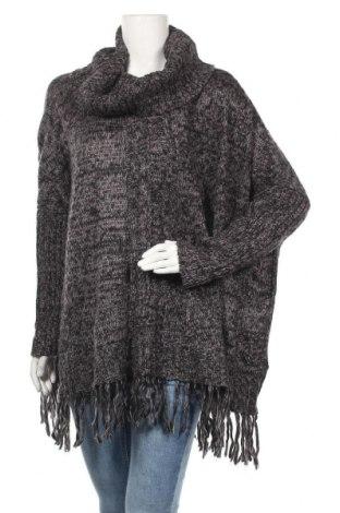 Дамски пуловер Mira & Mira, Размер L, Цвят Сив, Акрил, Цена 8,40лв.