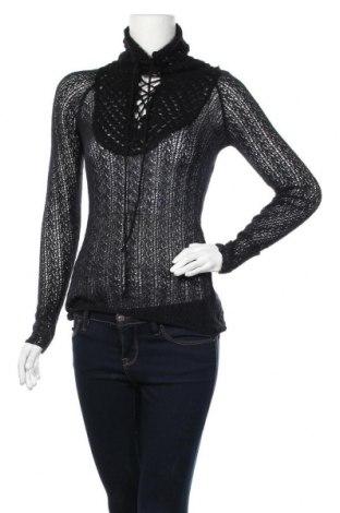 Дамски пуловер Miss Sixty, Размер M, Цвят Черен, Цена 29,93лв.