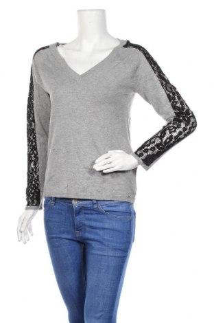 Дамски пуловер Morgan De Toi, Размер M, Цвят Сив, 78% вискоза, 22% полиамид, Цена 29,40лв.
