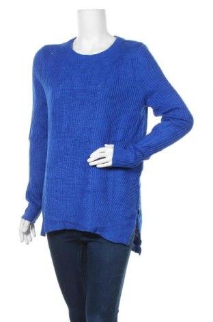 Дамски пуловер Mossimo, Размер L, Цвят Син, 55% акрил, 23% полиамид, 22% вискоза, Цена 10,08лв.