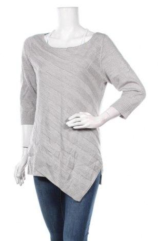 Дамски пуловер New York & Company, Размер M, Цвят Сив, 87% акрил, 8% полиестер, 5% метални нишки, Цена 10,08лв.