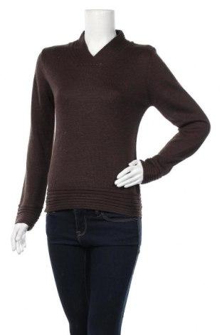 Дамски пуловер Nexus, Размер L, Цвят Кафяв, 70% акрил, 30% вълна, Цена 19,11лв.