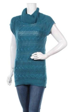 Γυναικείο πουλόβερ Nkd, Μέγεθος M, Χρώμα Μπλέ, 50% πολυακρυλικό, 50% βαμβάκι, Τιμή 5,46€