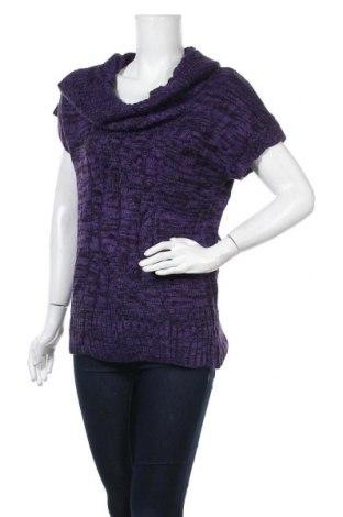 Дамски пуловер No Boundaries, Размер S, Цвят Лилав, Акрил, Цена 8,82лв.
