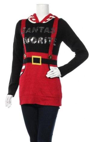 Дамски пуловер No Boundaries, Размер S, Цвят Многоцветен, Акрил, Цена 15,59лв.