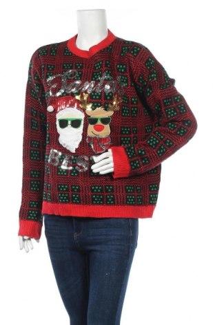 Дамски пуловер No Boundaries, Размер XXL, Цвят Многоцветен, Акрил, Цена 11,34лв.