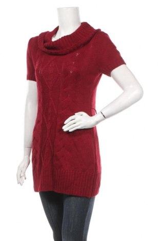 Дамски пуловер No Boundaries, Размер L, Цвят Червен, Акрил, Цена 18,48лв.