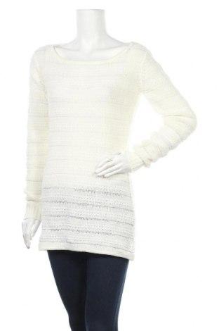 Дамски пуловер ONLY, Размер M, Цвят Бял, Цена 25,20лв.