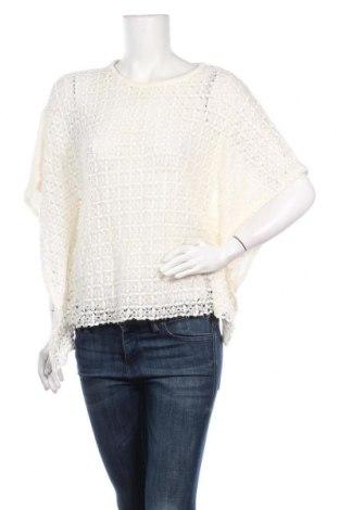 Дамски пуловер ONLY, Размер M, Цвят Екрю, 82% памук, 18% акрил, Цена 6,04лв.