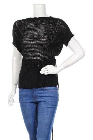 Дамски пуловер Okay, Размер S, Цвят Черен, Полиакрил, Цена 6,04лв.