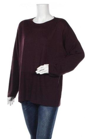 Γυναικείο πουλόβερ Olsen, Μέγεθος XL, Χρώμα Βιολετί, 50% μαλλί, 50%ακρυλικό, Τιμή 16,01€