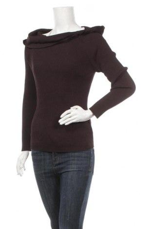 Γυναικείο πουλόβερ Olsen, Μέγεθος XL, Χρώμα Καφέ, 65% βισκόζη, 35% πολυαμίδη, Τιμή 14,36€