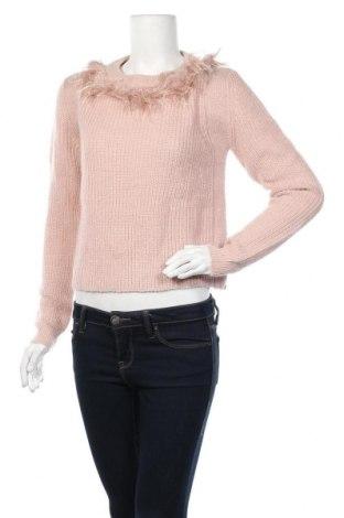 Γυναικείο πουλόβερ Patrizia Pepe, Μέγεθος M, Χρώμα Ρόζ , 44% πολυαμίδη, 36% μαλλί, 12% μαλλί από αλπακά, 8% πολυεστέρας, Τιμή 24,55€