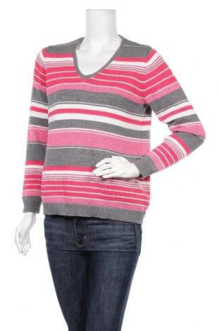 Дамски пуловер Rabe, Размер L, Цвят Многоцветен, 60% полиестер, 40% памук, Цена 20,16лв.