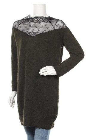 Дамски пуловер Rainbow, Размер M, Цвят Зелен, 84% полиакрил, 10% полиамид, 6% полиестер, Цена 10,40лв.