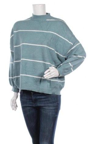 Γυναικείο πουλόβερ Rainbow, Μέγεθος XXL, Χρώμα Πράσινο, 50% βισκόζη, 26% πολυαμίδη, 24% πολυεστέρας, Τιμή 12,70€