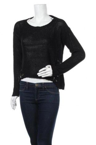 Дамски пуловер Retrod, Размер S, Цвят Черен, 95% акрил, 5% памук, Цена 6,56лв.
