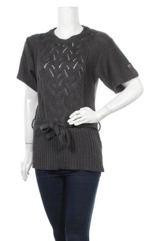 Дамски пуловер Ria-moda, Размер M, Цвят Сив, 50% полиакрил, 50% памук, Цена 5,60лв.