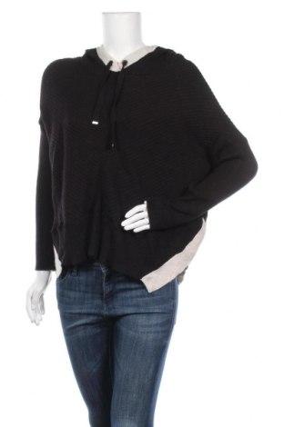 Дамски пуловер River Island, Размер S, Цвят Черен, 49% вискоза, 30% полиестер, 21% полиамид, Цена 12,29лв.
