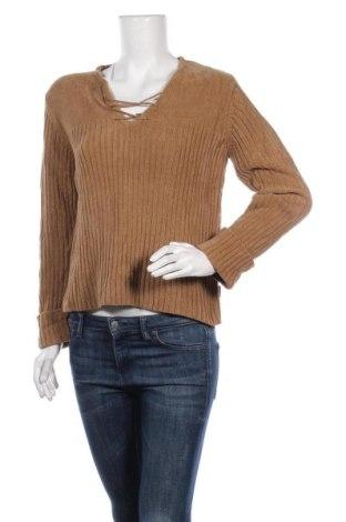 Дамски пуловер S.Oliver, Размер M, Цвят Кафяв, Акрил, Цена 7,25лв.