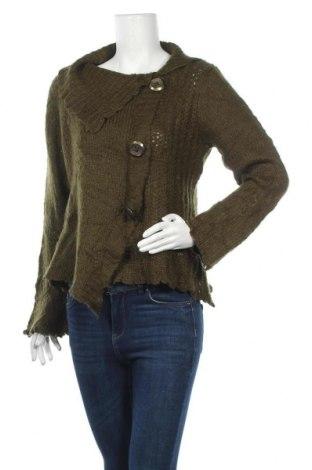 Γυναικείο πουλόβερ San Francisco, Μέγεθος M, Χρώμα Πράσινο, 76%ακρυλικό, 17% πολυεστέρας, 7% πολυαμίδη, Τιμή 13,58€
