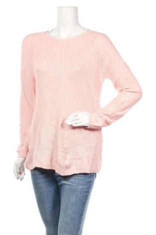 Дамски пуловер Sonoma, Размер L, Цвят Розов, 55% памук, 40% полиамид, 5% акрил, Цена 11,34лв.