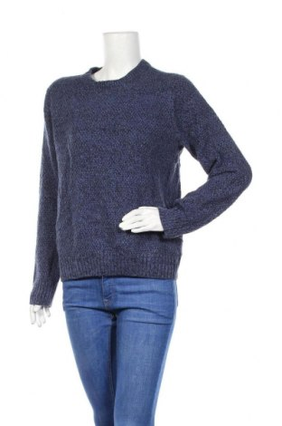 Дамски пуловер Spao, Размер S, Цвят Син, Акрил, Цена 14,70лв.