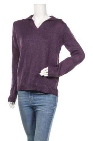 Γυναικείο πουλόβερ St. John's Bay, Μέγεθος M, Χρώμα Βιολετί, 93%ακρυλικό, 7% πολυεστέρας, Τιμή 14,19€