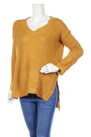 Дамски пуловер Streetwear Society, Размер S, Цвят Жълт, Цена 6,83лв.