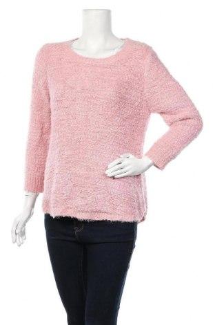 Дамски пуловер Studio, Размер XL, Цвят Розов, 98% полиестер, 2% метални нишки, Цена 37,80лв.