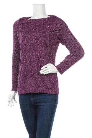 Γυναικείο πουλόβερ Style & Co, Μέγεθος S, Χρώμα Βιολετί, 49% βαμβάκι, 33%ακρυλικό, 9% πολυεστέρας, 9% μεταλλικά νήματα, Τιμή 17,28€