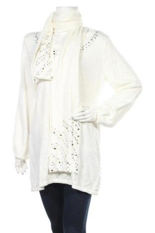 Γυναικείο πουλόβερ Style & Co, Μέγεθος L, Χρώμα Λευκό, Τιμή 6,37€